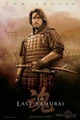 Pēdējais samurajs plakāts