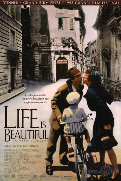 Filmas Dzīve ir skaista plakāts