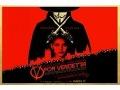V ir Vendeta plakāts