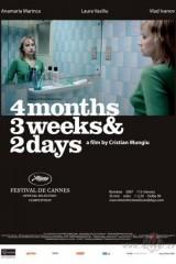 4 mēneši, 3 nedēļas un 2 dienas plakāts
