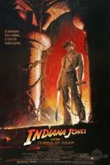 Indiana Džonss un Likteņa templis plakāts