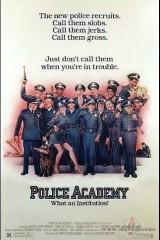 Policijas akadēmija plakāts