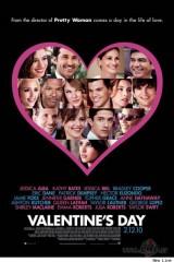Valentīna diena plakāts