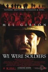 Mēs bijām kareivji plakāts