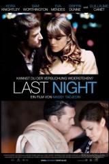 Pagājusī nakts plakāts