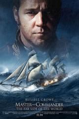 Master & Commander: Uz pasaules malu plakāts