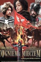 Ar uguni un zobenu plakāts
