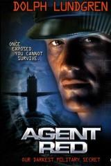 Sarkanais aģents plakāts