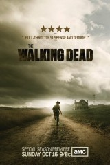 Staigājošie miroņi plakāts