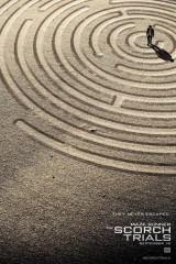 Labirinta skrējējs: Ugunskristības plakāts